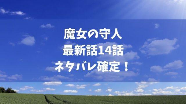 魔女の守人14話ネタバレ最新確定!スピカが限界でイビル化が始まる!?